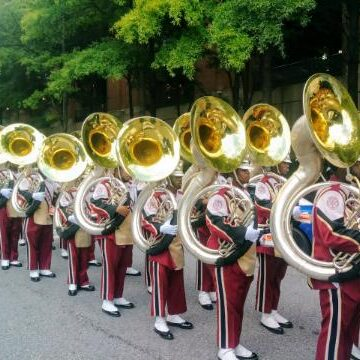 Bethune Cookman Marching Band- Brass Blaster